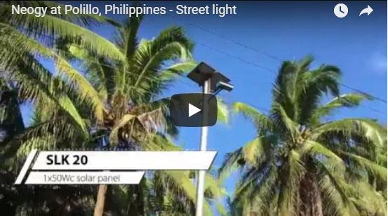 Neogy at Polillo, Philippines – Street light